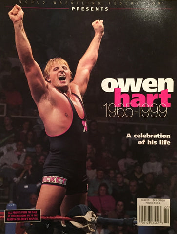 WWF Magazine - Owen Hart Tribute