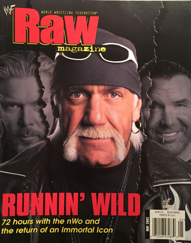 WWF Raw Magazine - May 2002