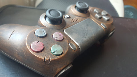 Steampunk / Wasteland Games Controller - PS4