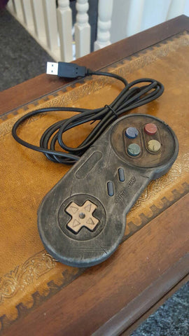 Steampunk / Wasteland USB Games Controller - SNES