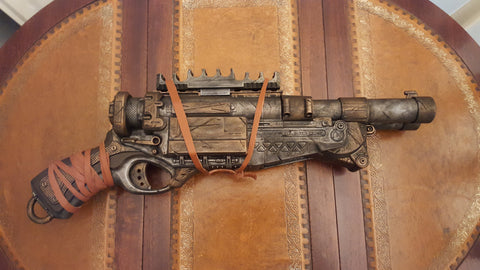 Cosplay prop. Steampunk / Wasteland gun - Nerf Barrel Break