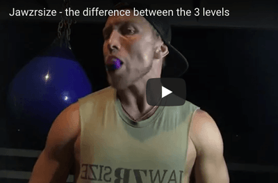 Jawzrsize - the difference between the 3 levels