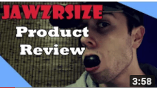 JAWZRSIZE: Product Review (Jawline Exercise for Men) by Rafael Sondon