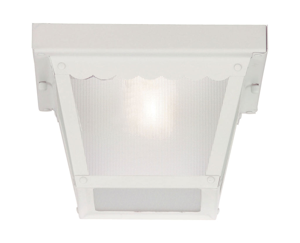 Savoy House - 07044-WHT - One Light Flush Mount - Exterior Collections - White