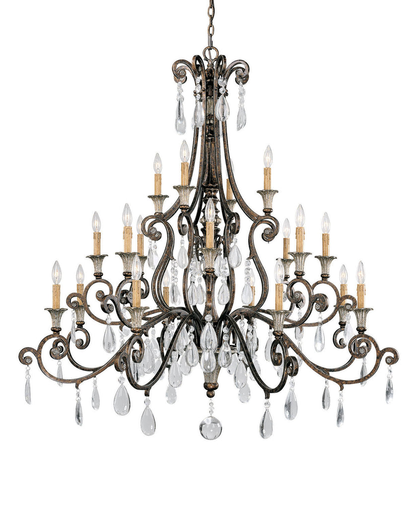 Savoy House - 1-3005-20-8 - 20 Light Chandelier - St. Laurence - New Tortoise Shell w/Silver