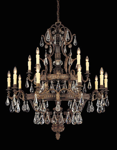 Savoy House - 1-6205-15-241 - 15 Light Chandelier - Marseille - Moroccan Bronze