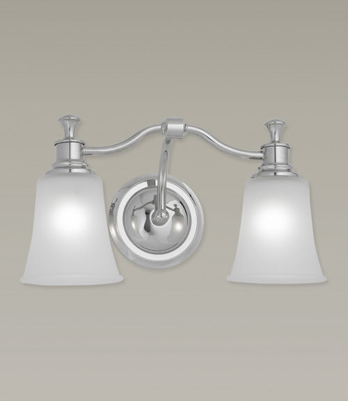 Norwell Lighting - 9722-BN-FR - Two Light Wall Sconce - Sienna - Brush Nickel