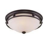 Savoy House - 6-5450-13-13 - Two Light Flush Mount - Flush Mount - English Bronze