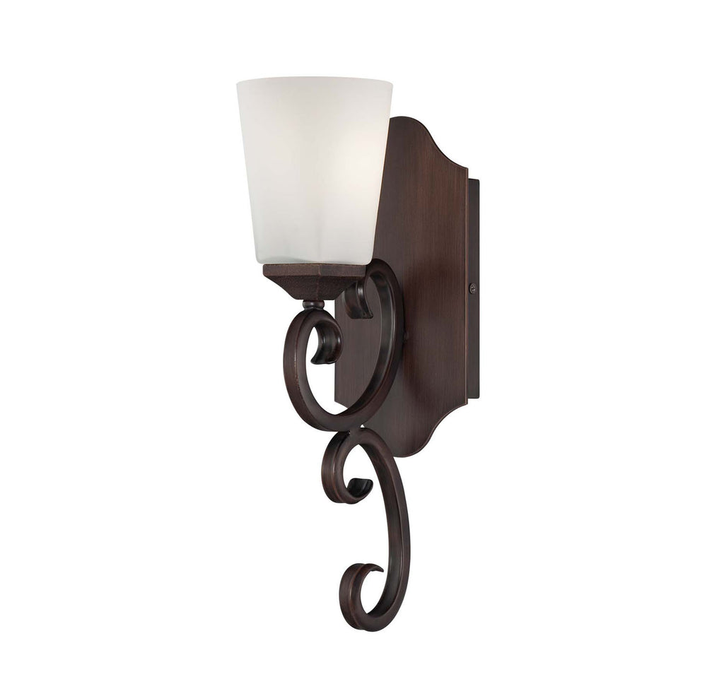 Savoy House - 9-4372-1-129 - One Light Wall Sconce - Nayah - Espresso