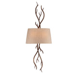 Savoy House - 9-4803-2-132 - Two Light Wall Sconce - Brambles - Moonlit Bark