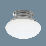 Norwell Lighting - 5370-CH-SO - Flush Mount - Clayton - Chrome