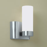 Norwell Lighting - 8900-BN-SO - One Light Wall Sconce - Wave - Brush Nickel