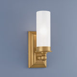 Norwell Lighting - 9730-AG-MO - One Light Wall Sconce - Richmond - Aged Brass