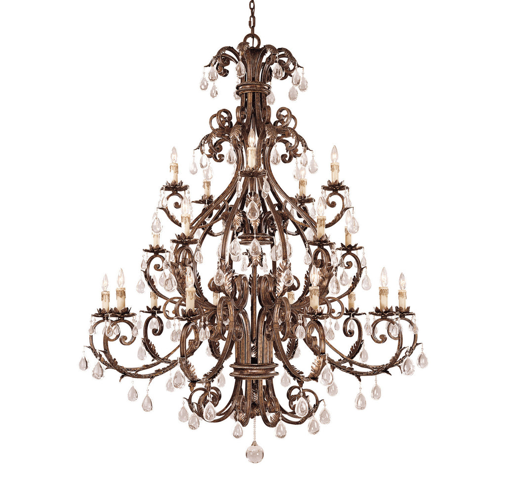 Savoy House - 1-5309-20-8 - 20 Light Chandelier - Chastain - New Tortoise Shell w/Silver
