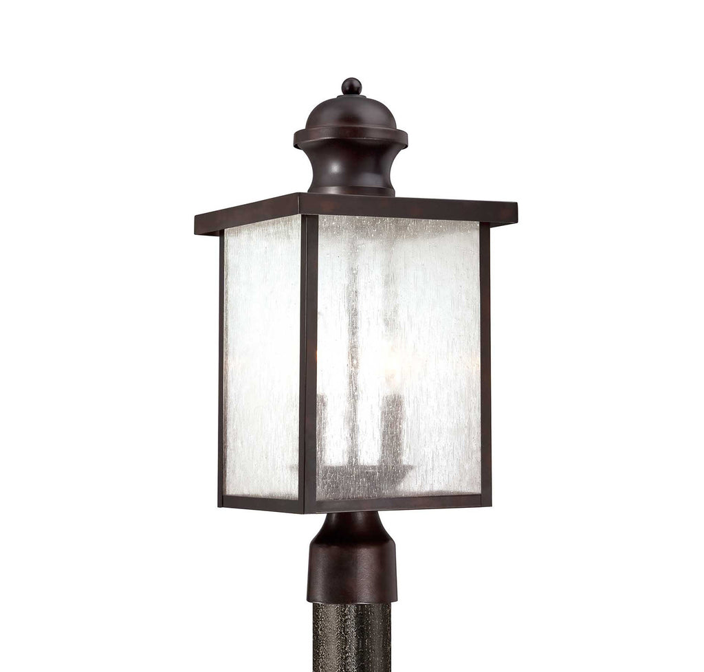 Savoy House - 5-604-13 - Two Light Post Lantern - Newberry - English Bronze