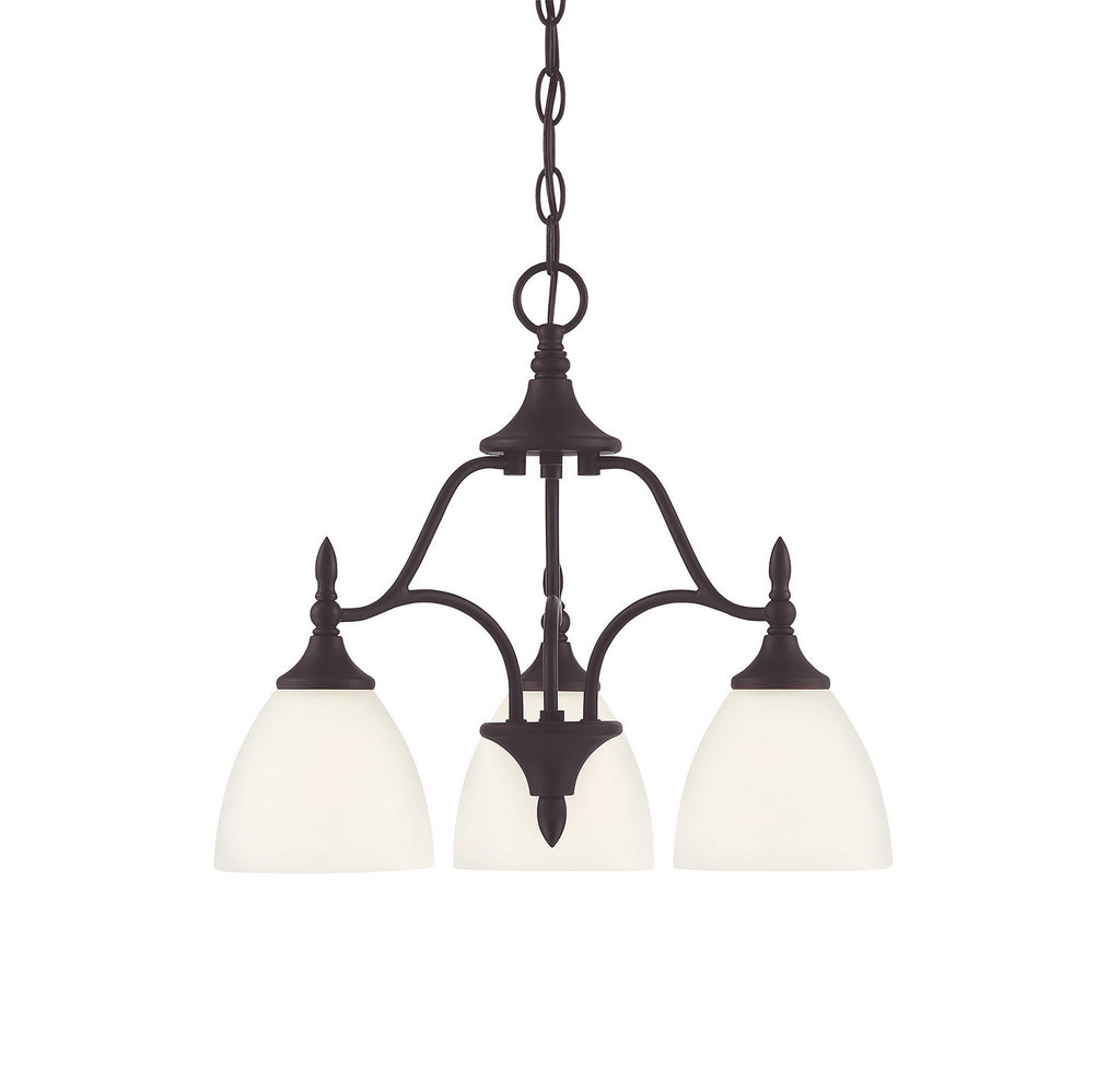Savoy House - 1-1000-3-13 - Three Light Chandelier - Herndon - English Bronze