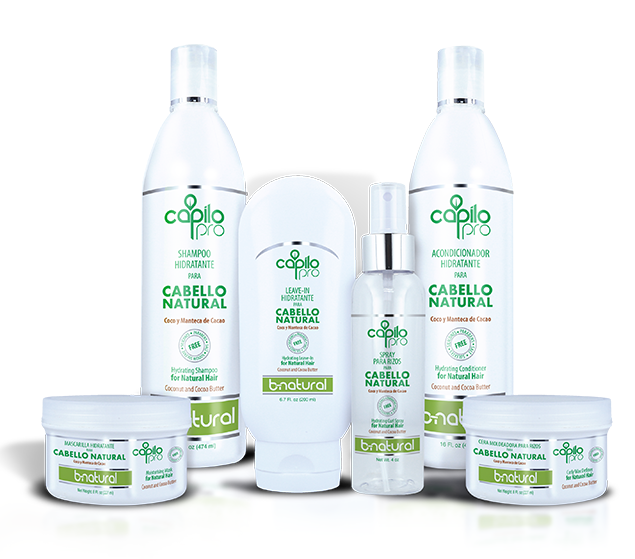 Capilo Pro B-Natural Hair Kit (6 Piece System)