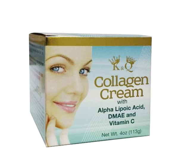 K&Q Collagen Cream 4oz (Crema de Colágeno)