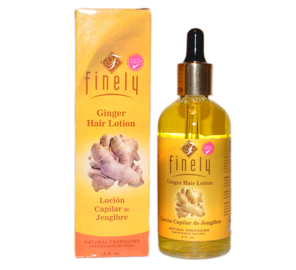 Finely Ginger Scalp Drop (Gotero de Jengibre) 4 fl oz