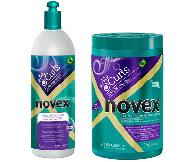 Embelleze Novex My Curls Hair Kit (Hair Mask & Leave-in Conditioner)