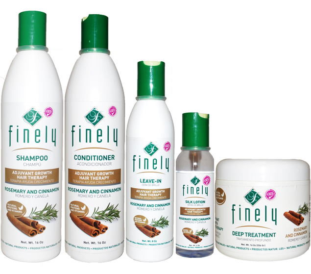 Finely Rosemary & Cinnamon Hair Kit (5 Piece Set)
