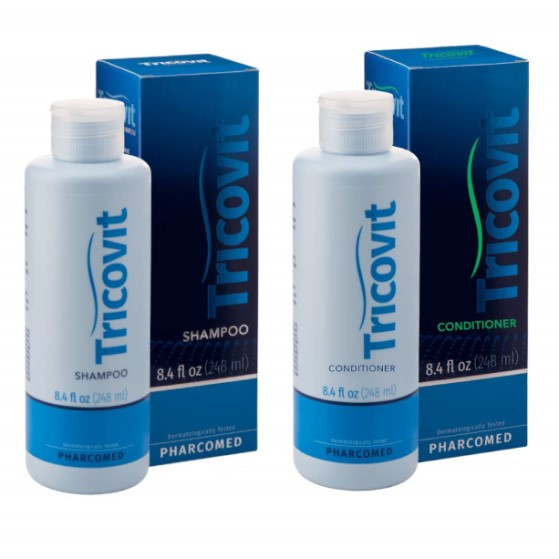 Tricovit Forte Shampoo and Conditioner (Hair Loss Kit)