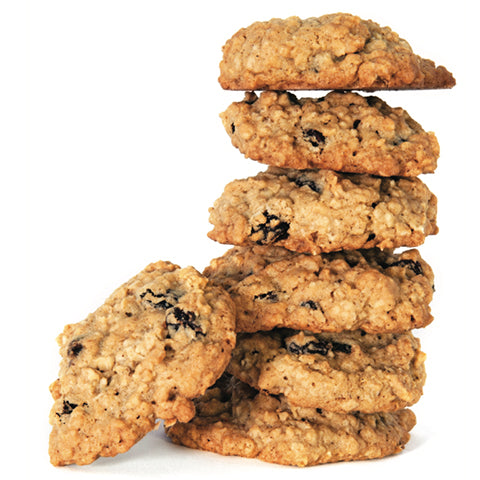 Oatmeal, Raisin & Organic Ginger Cookies