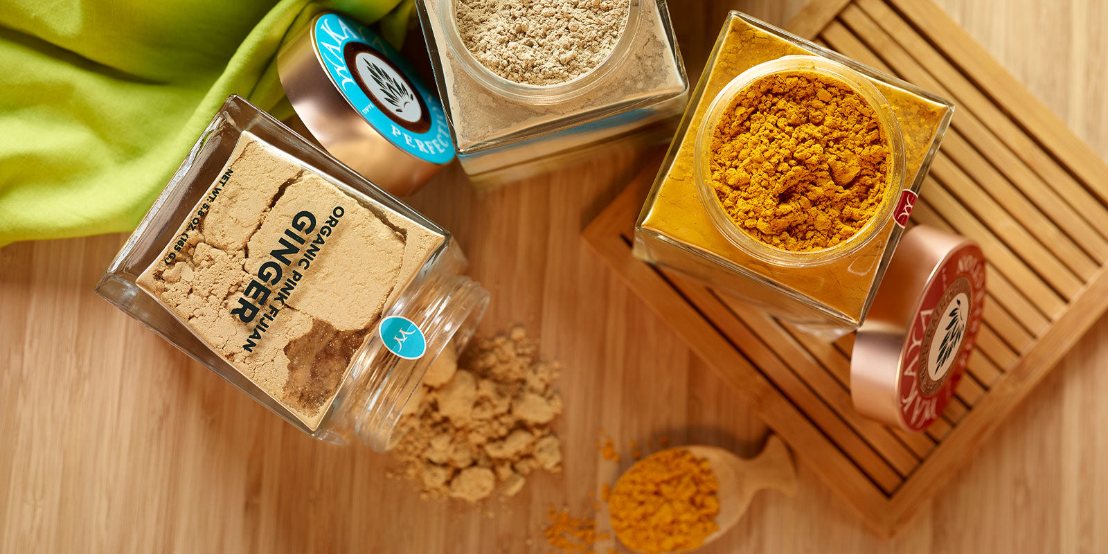 Ginger & Turmeric Powder