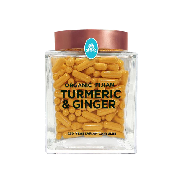 Wakaya Perfection Organic Fijian Turmeric & Ginger Capsules (500 MG | 250 CT)