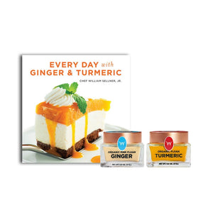 Organic Fijian Ginger & Turmeric (0.6 OZ) + Recipe Book