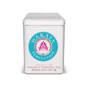 Wakaya Perfection Organic Fijian Ginger & Turmeric  Tea (20 Sachets) - The Wakaya Group