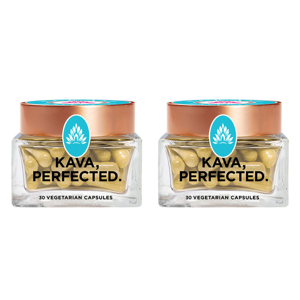 Wakaya Perfection Fijian Kava Capsules (500 MG | 30 CT) 2-Pack - The Wakaya Group