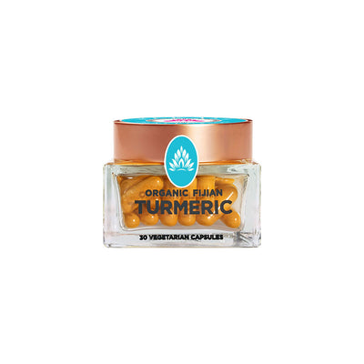 Wakaya Perfection Organic Fijian Turmeric Capsules (500 MG | 30 CT) - The Wakaya Group