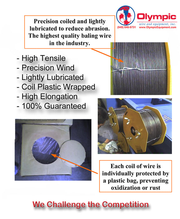 Box Wire or Baling Wire | Baler Parts | Baler Equipment - Olympic ...
