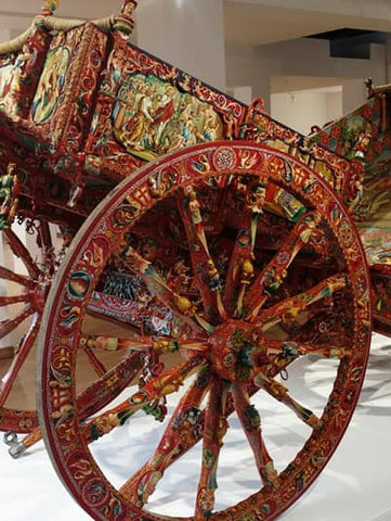 The art of Sicilian carts