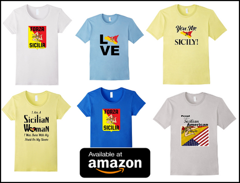 You Me & Sicily T Shirt for sale at Amazon.com