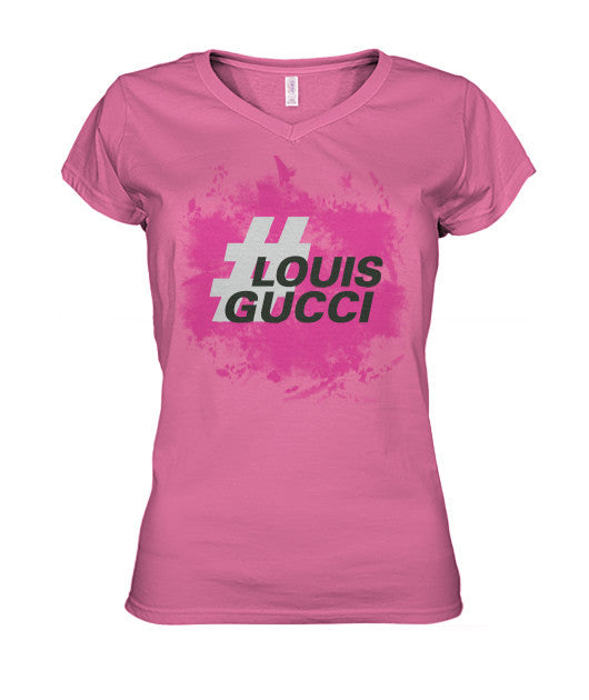 Bryson Morris #LouisGucci V-Neck - Girls