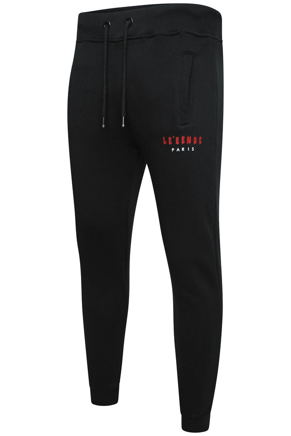 LEGENDE FLC PANT  -  BLACK/RED