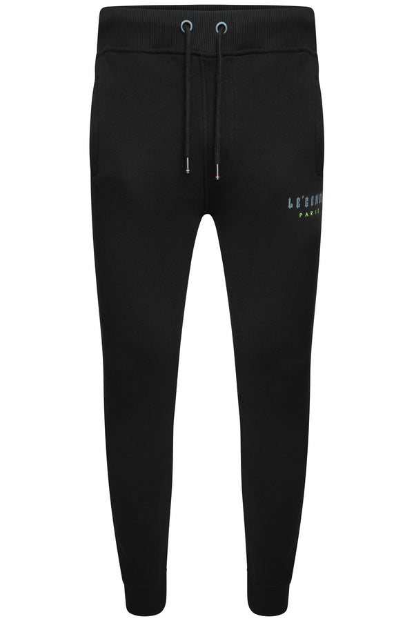 LEGENDE FLC PANT  -  BLACK/NEON/GREY