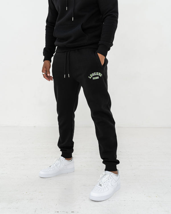 LEGENDE FLC PANT  -  BLACK/GREEN CAMO