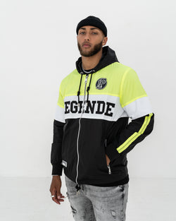 LP Windbreaker / Neon Green & Black