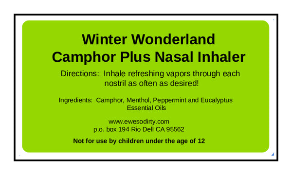 Winter Wonderland Nasal Inhaler