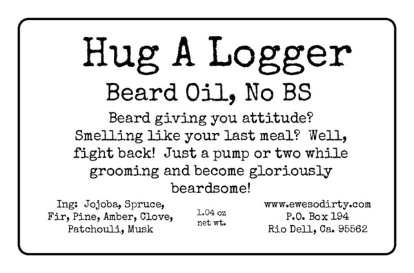 Hug A Logger Beard Oil, 1oz