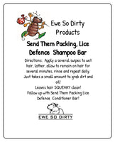 Lice Defense Tea Tree and Eucalyptus Shampoo Bar, 42gm
