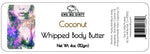 Whipped Shea Body Butter,  COCONUT,  3 oz