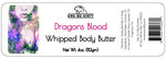 Whipped Shea Body Butter, DRAGONS BLOOD, 3 oz