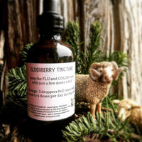 Elderberry Tincture, 4 oz.