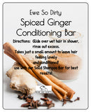 Spiced Ginger Solid Conditioner Bar, 42 gm