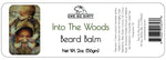 Beard Balm & Leave in Conditioner, INTO THE WOODS, 2 oz