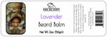 Beard Balm & Leave In Conditioner, LAVENDER, 2 oz
